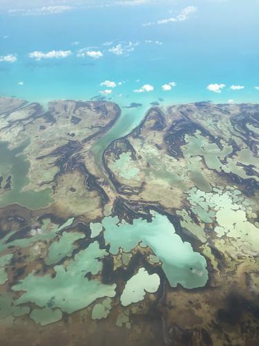 ocean window plane landscape air flight atlantic bahamas andros westsidenationalpark wideopening