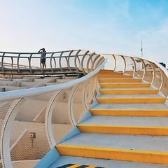 Step up  #metropolparasol #sevilla #seville #spain #ig_Europe #ig_Spain #igworldclub #livelovetheworld_  #architizer #archdaily #archilovers #topeurophoto  #architecturenow #minimal #minimalmood #minimalist #rsa_minimal #architecture #livelovespain #livel