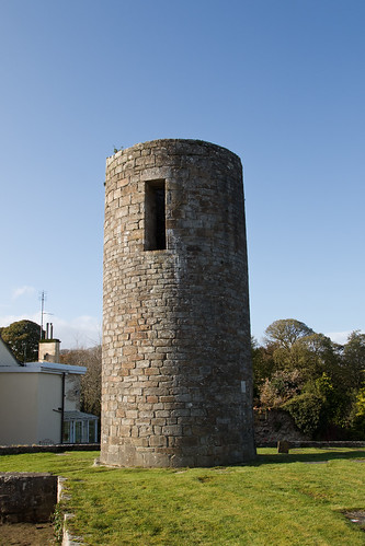 Balla Round Tower with door