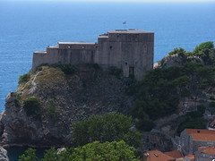 Lovrijenac fortress, seen from the Minceta Tower