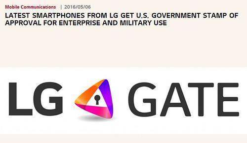 ตัวอย่างข่าว Security ของ LG
