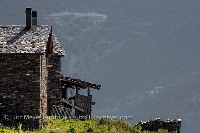 Andorra landscape: La Massana, Vall nord, Andorra