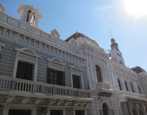 Sucre: le musée du Folklore et la Banque Nationale