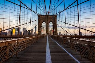 Brooklyn Bridge - East side