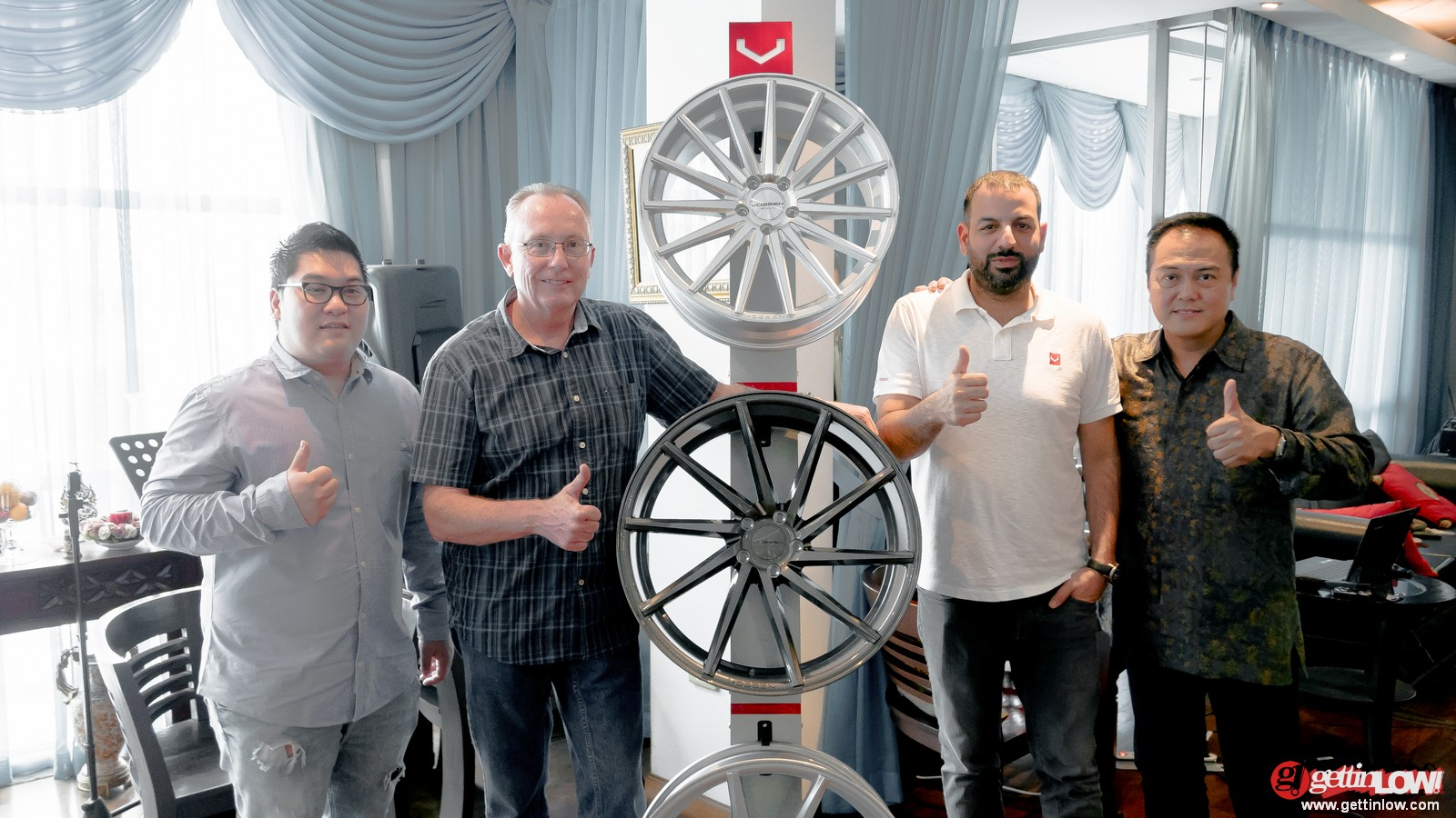 press conference Vossen X Permaisuri