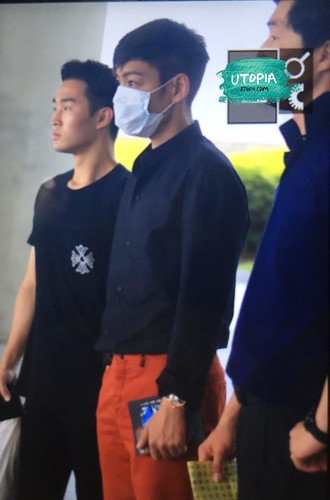 TOP - Incheon Airport - 22jun2015 - Utopia - 03