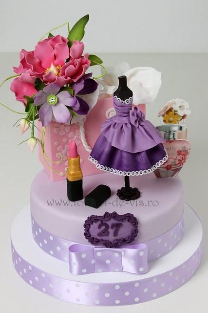 Fashion Cake by Torturi - Viorica's Cakes