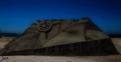 Sand Castle, Long Beach--in explore