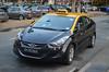 Yellow-Top Taxis Hyundai Elantra Taxi