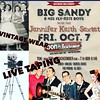 Want to be on tv? Dress in your best vintage and head to Don's this Friday for a great show and an NBC filming. Big Sandy is 8:30-10, Jennifer Keith is 10:30-11:45
