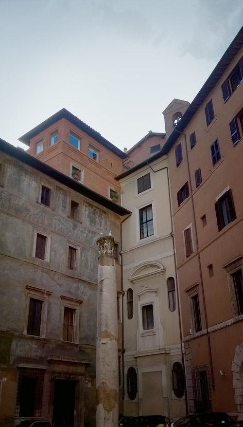 Roma Colonna Palazzo Massimo