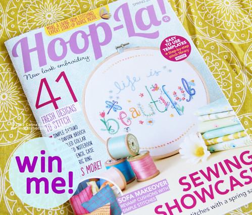 &Stitches - Hoop-La! giveaway