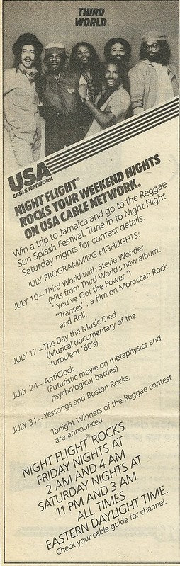07/22/82 RS (Night Flight on USA - Schedule Ad)