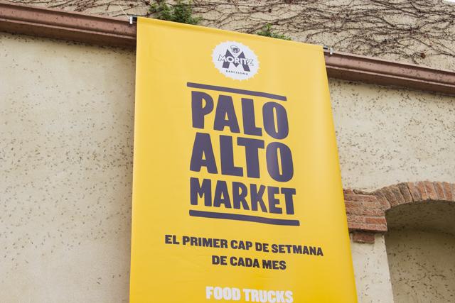 Paolo Alto flea market Barcelona