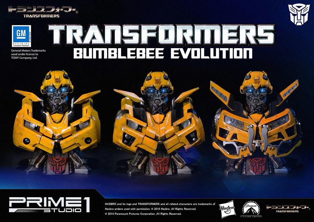 【販售資訊更新】Prime 1 Studio 變形金剛【大黃蜂】博派 BUMBLEBEE 三種型態 半身胸像