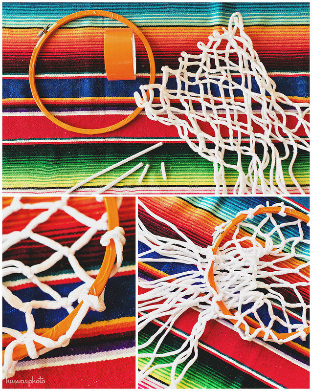 #DelimexFiesta DIY basketball hoop