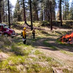 SVFD Assists with Prescribed Burn