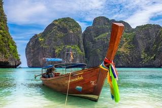Maya Beach & Boat