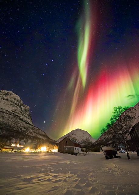 Wayne Pinkston - Aurora In Kitdalen, Norway