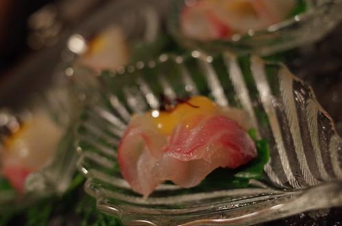 白身魚の酢味噌和え Sakana Mamire 05