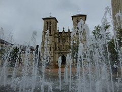 Cathedral Through the Fountains