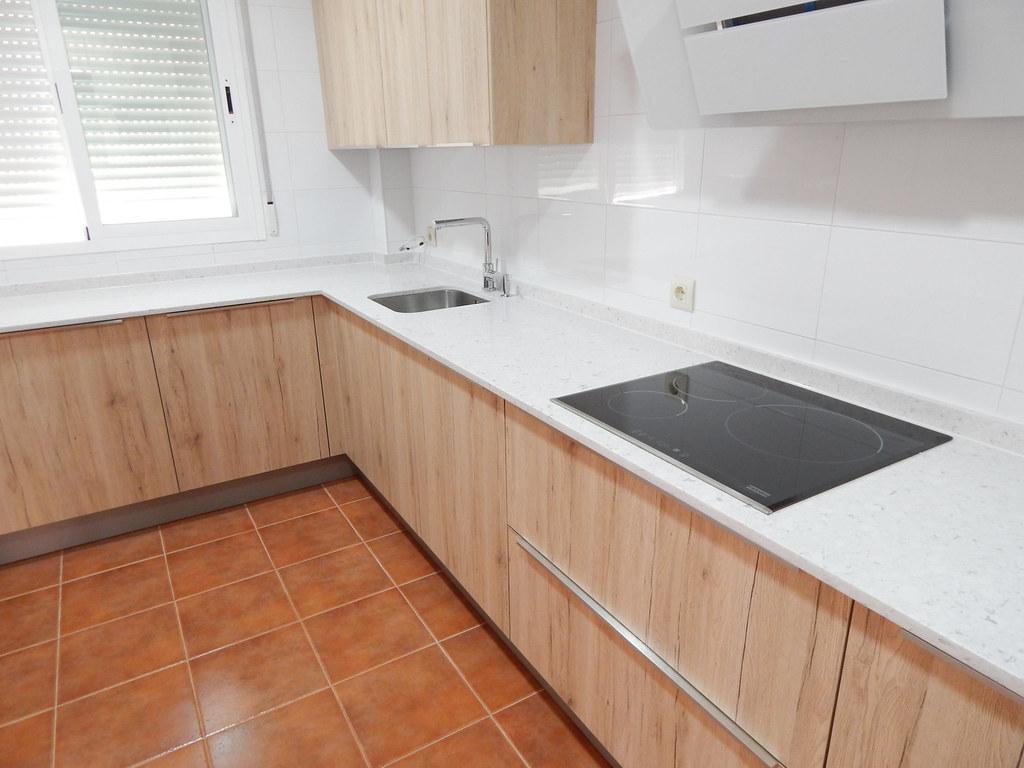 Muebles de cocina roble arena - cocinasalemanas.com