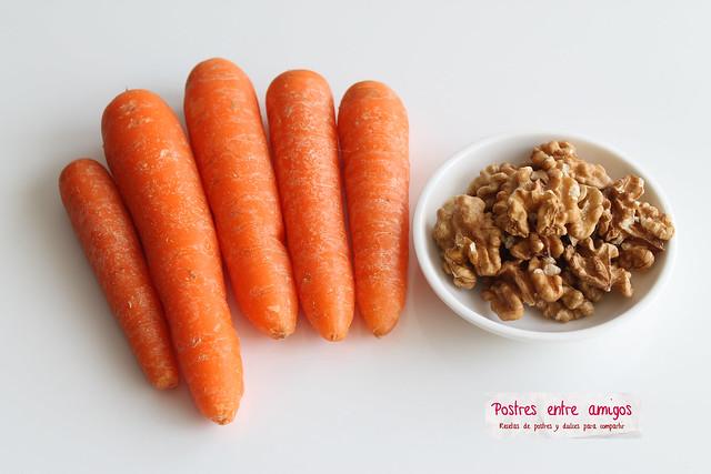 Tarta de Zanahoria y Nueces