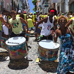 Fête dans les rues de Salvador