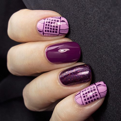 Picture Polish Twinkle, Essence Sweet Purpleline & O.P.I. Merry Midnight