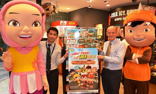 7-Eleven Welcomes BoBoiBoy Superheroes