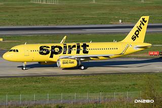 Spirit A320-232  msn 6566