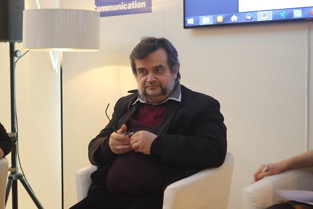 Olivier Mannoni - Salon du Livre de Paris 2015