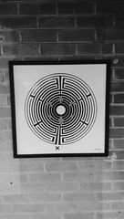 London Underground Labyrinth art