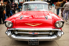 chevrolet, automobile, automotive exterior, vehicle, custom car, automotive design, auto show, full-size car, antique car, chevrolet bel air, vintage car, land vehicle, luxury vehicle, motor vehicle,