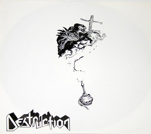 "Destruction Cracked Brain 12"" VInyl LP"