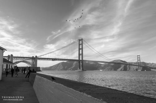 Golden Gate Sidewalk