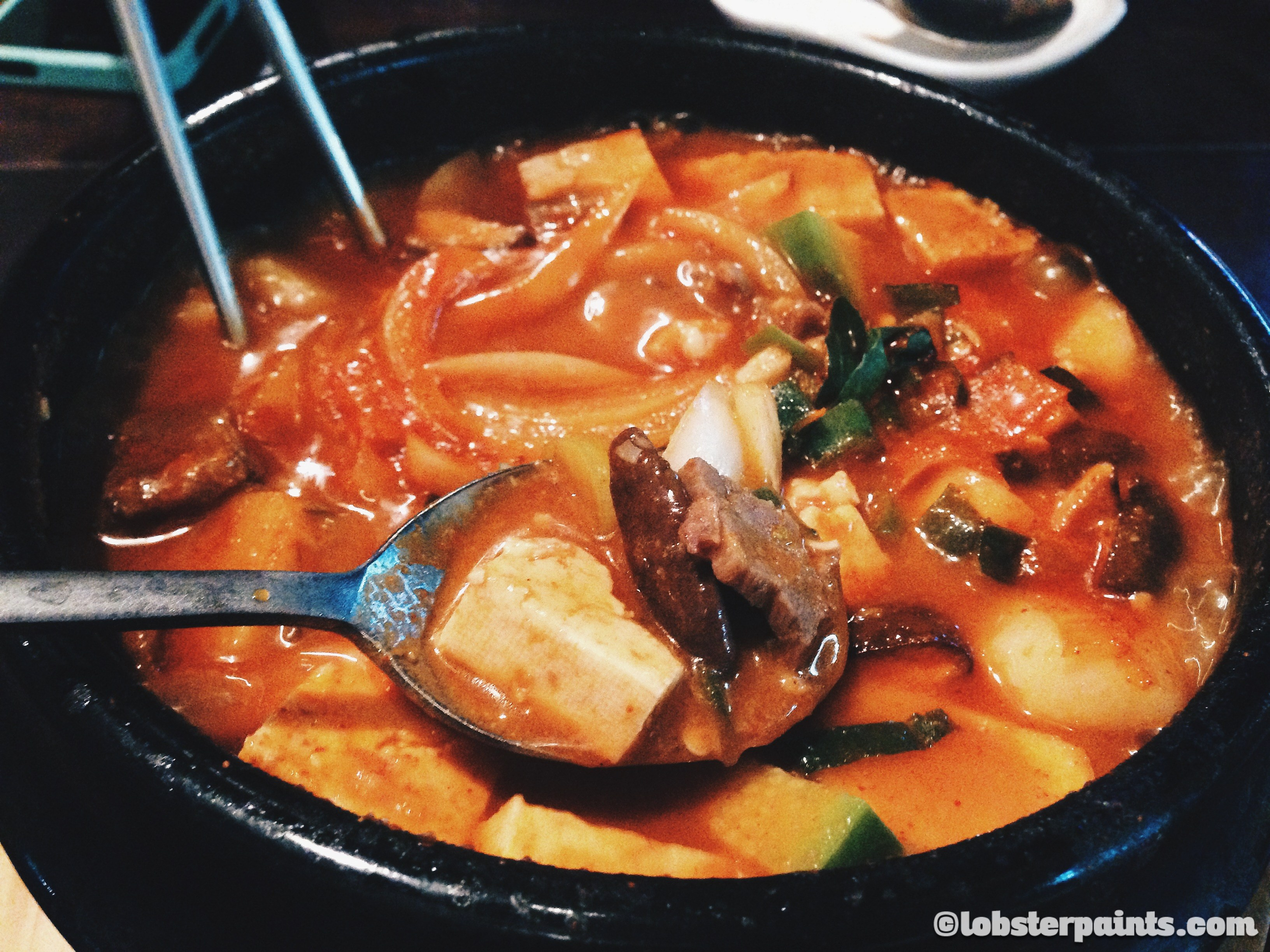 5 Oct 2014: Dinner @ Itaewon | Seoul, South Korea