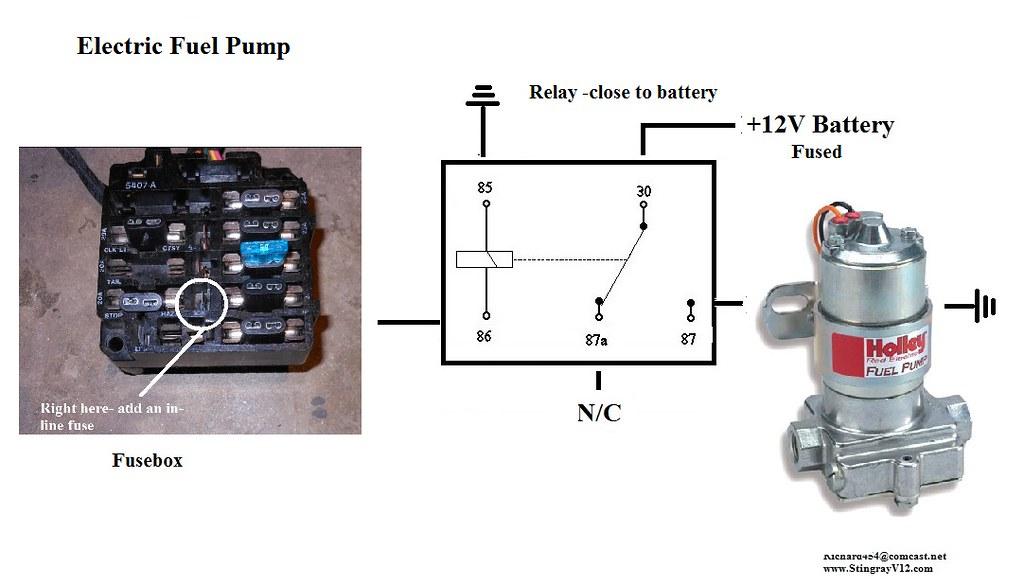 mixing wire gauges 16ga to 10ga corvetteforum chevrolet rh corvetteforum com Chevy Fuel Pump Wiring Diagram Chevy Fuel Pump Wiring Diagram