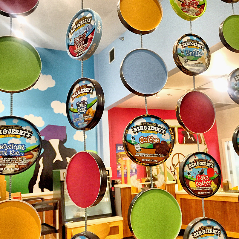 Ben & Jerry's: Ice Cream Social at Bakerella [Weekly Round-Up at High-Heeled Love]