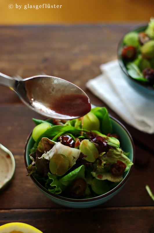 Salat mit Holunderdressing by Glasgeflüster 2 klein