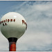 The famous water tower at Firestone Country Club