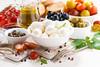 mozzarella and ingredients