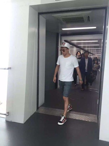 BIGBANG lArrival Shenzhen from Seoul 2015-08-07 020