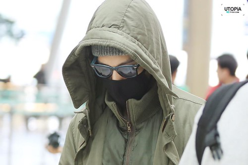 Big Bang - Incheon Airport - 01apr2015 - TOP - Utopia - 05