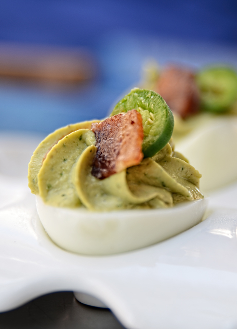 Guacamole Deviled Egg