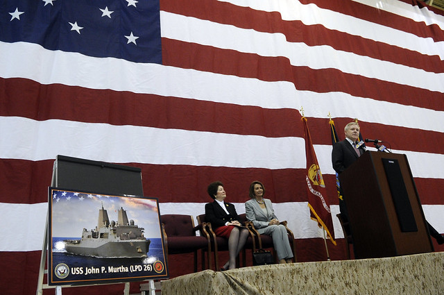 SECNAV Announces Name of LPD 26, USS John P. Murtha