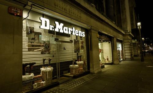 Dr Martens shop, Nottingham - 14-12-2014
