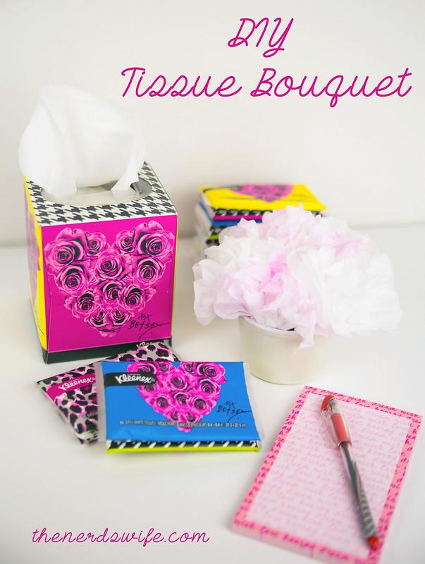 DIY Tissue Bouquet
