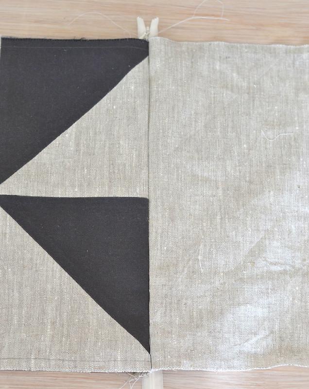 DIY Coussins géométriques
