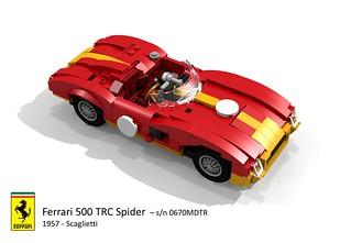 Ferrari 500 TRC Spider (Scaglietti - 1957)